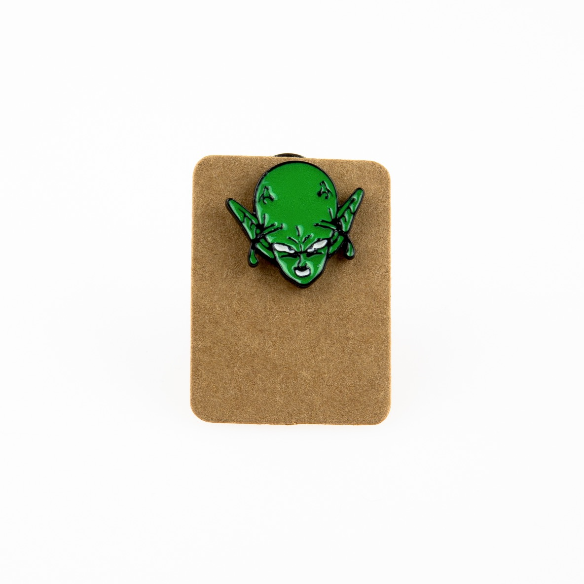 Metal Angry Alien Enamel Pin Badge