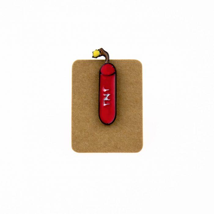 Metal Tnt Enamel Pin Badge