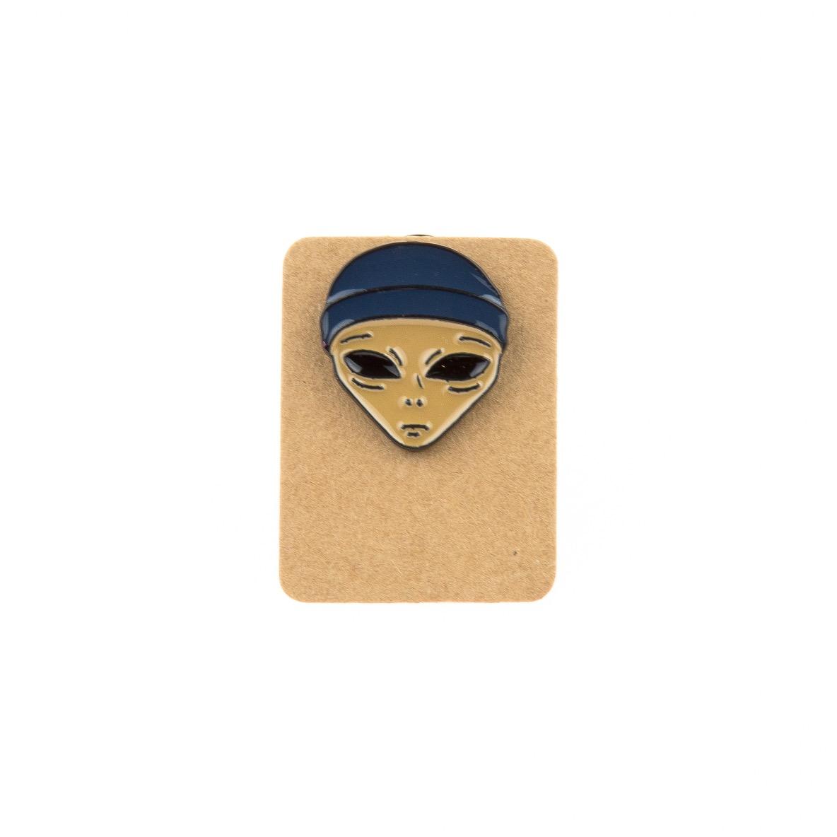 Metal Alien Thief Enamel Pin Badge