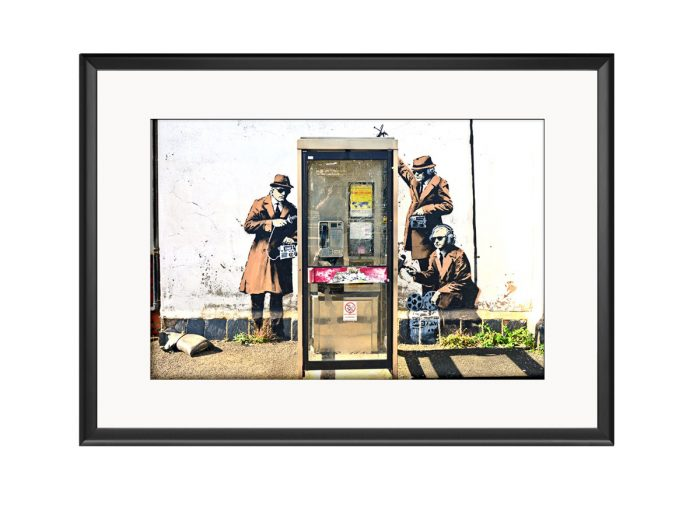 Agent Tapping Photo Print