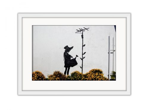 Antenna Girl Photo Print