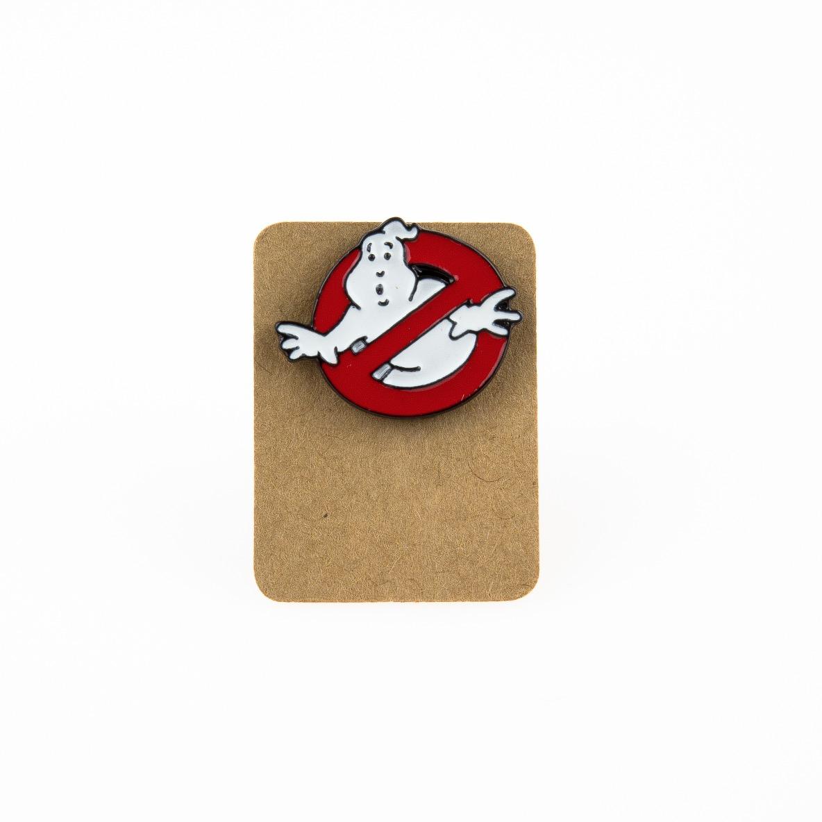 Metal Ghostbuster Enamel Pin Badge