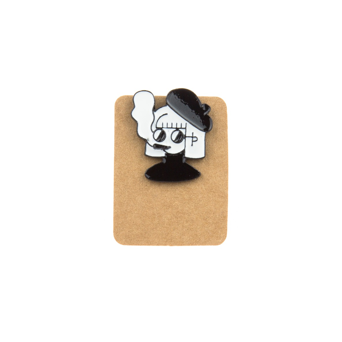 Metal Artist Emo Enamel Pin Badge