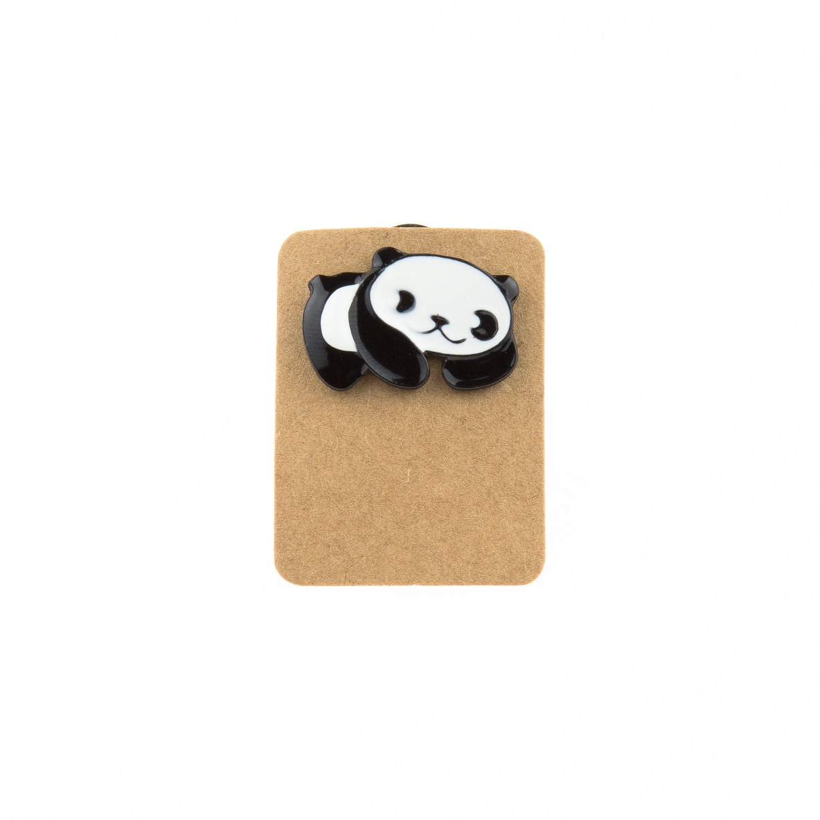 Metal Panda Enamel Pin Badge