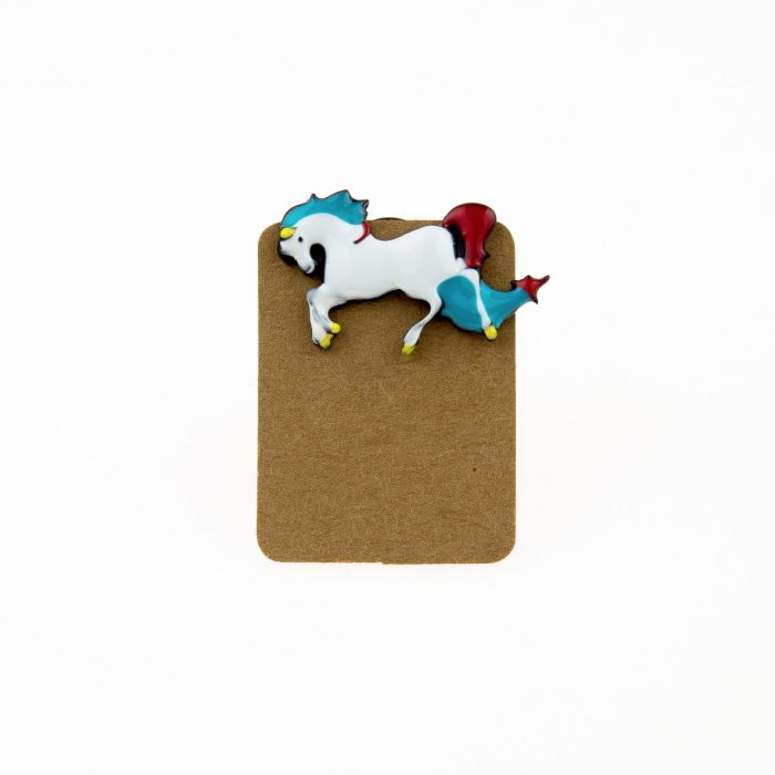 Metal Horse Enamel Pin Badge