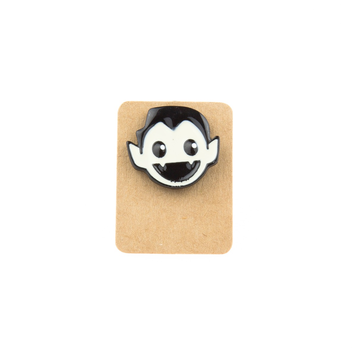 Metal Vampire Boy Enamel Pin Badge