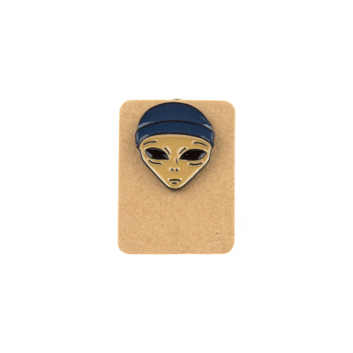 Metal Alien Thief Enamel Pin Badge