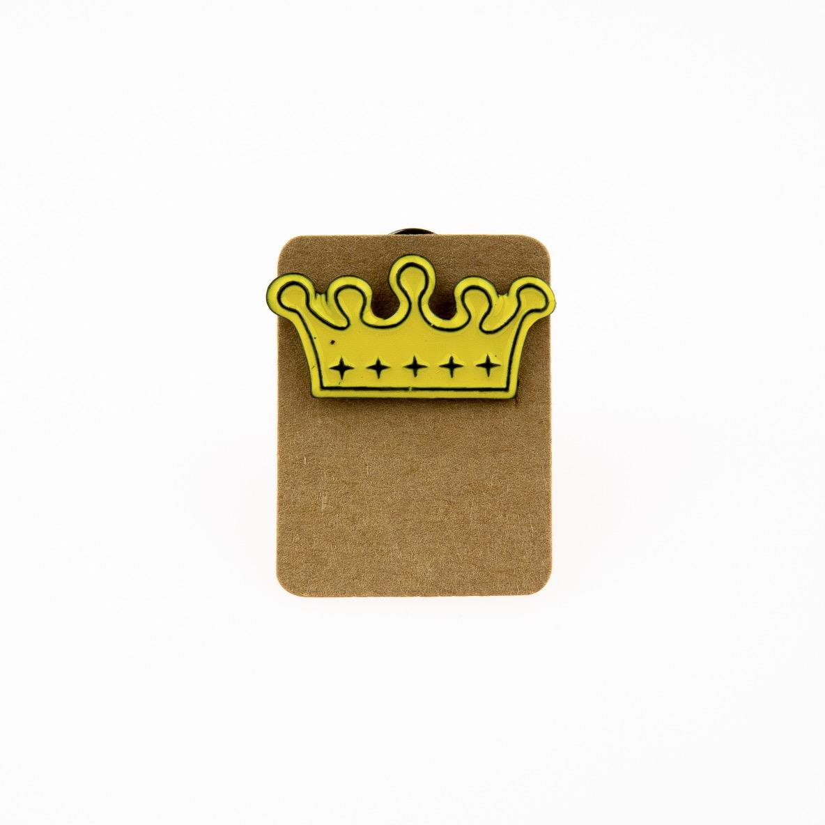 Metal Crown Star Enamel Pin Badge