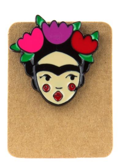 Metal Frida Enamel Pin Badge