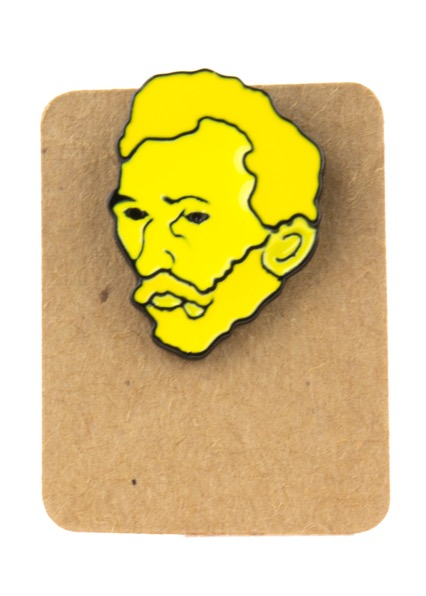Metal Van Gogh Enamel Pin Badge