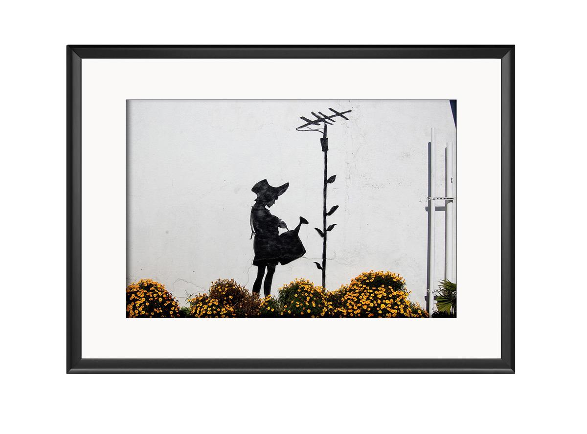 Antenna Girl Photo Print