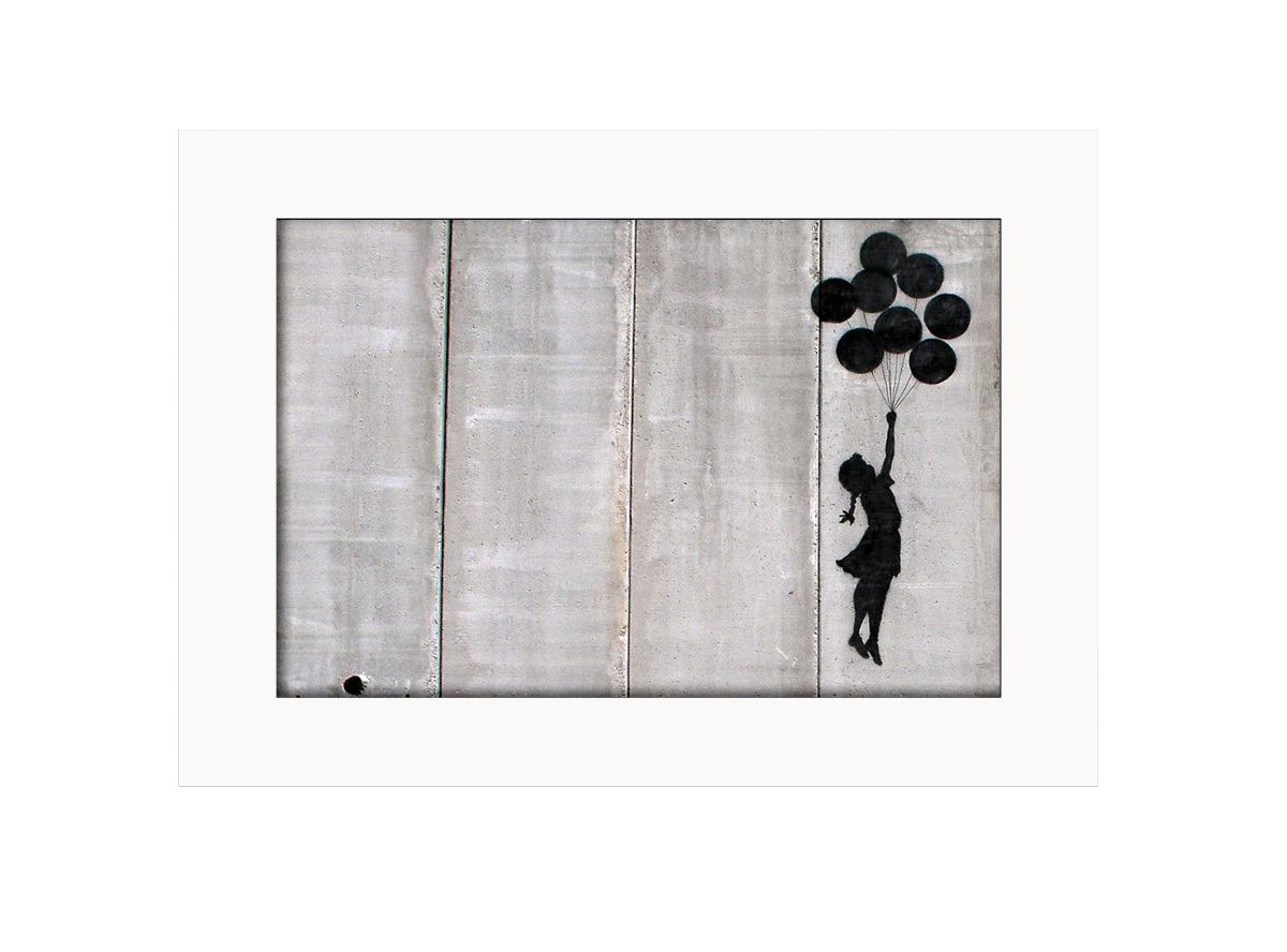 Balloon Girl  Photo Print