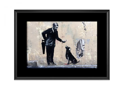 His Master Dog  Photo Print