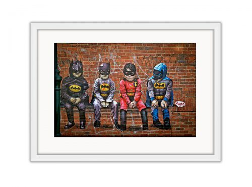 Batkids Photo Print