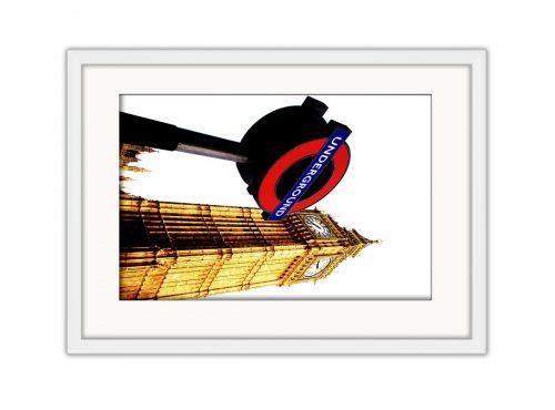 Big Ben Tube  Photo Print