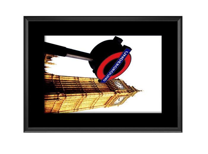 Big Ben Tube  Photo Print
