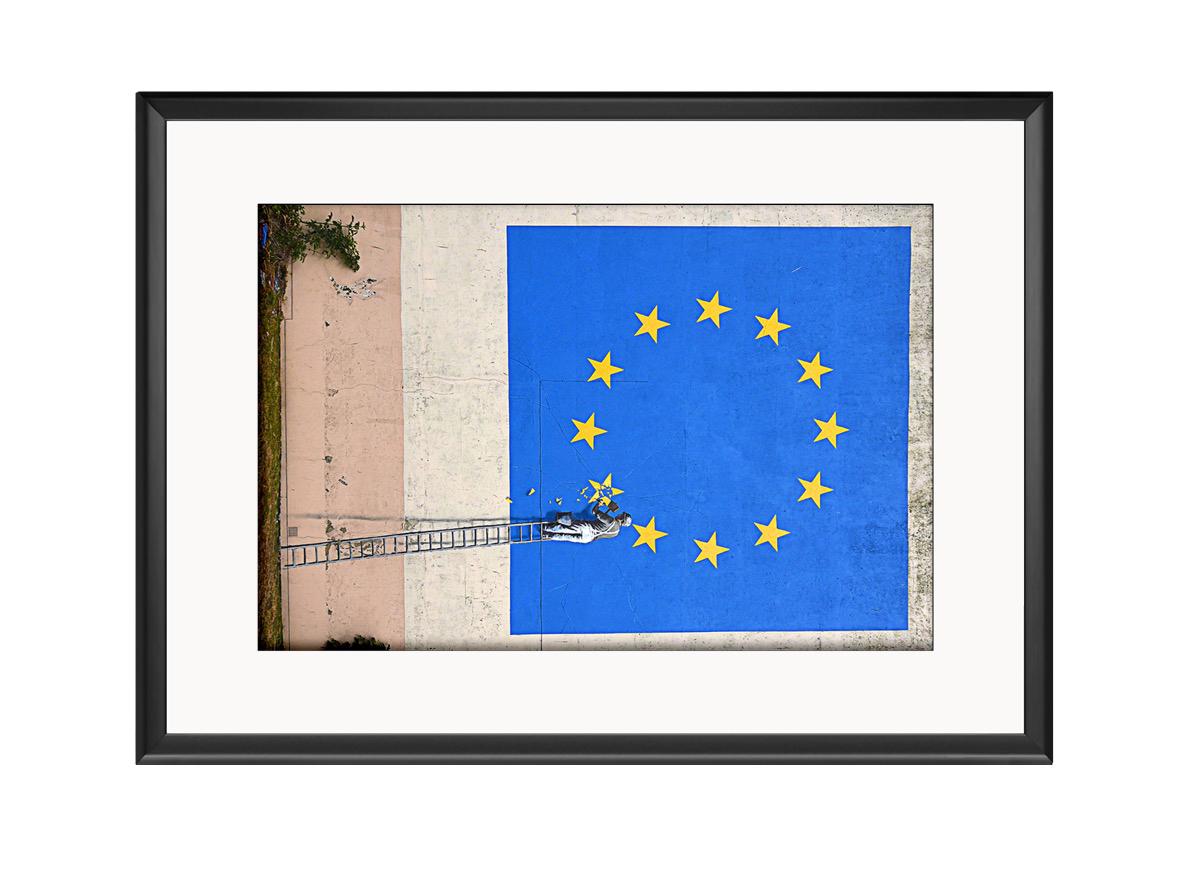 Brexit EU Flag Photo Print