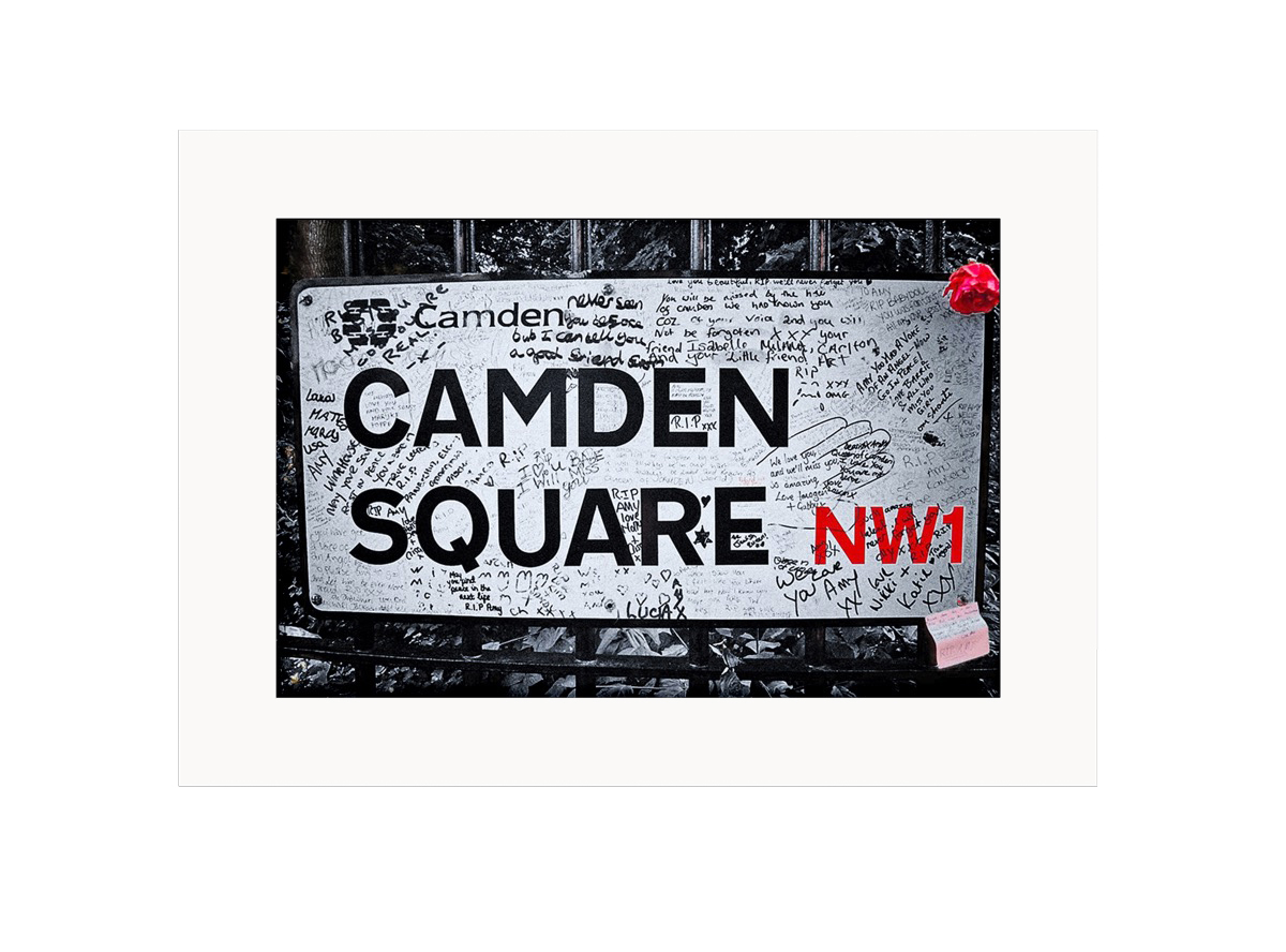 Camden Sqaure  Photo Print