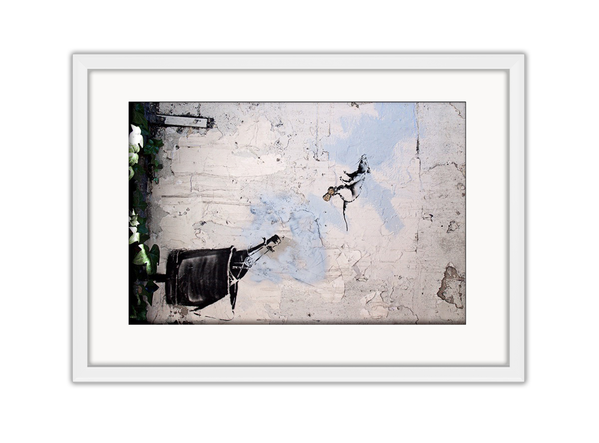 Champagne Rat Photo Print