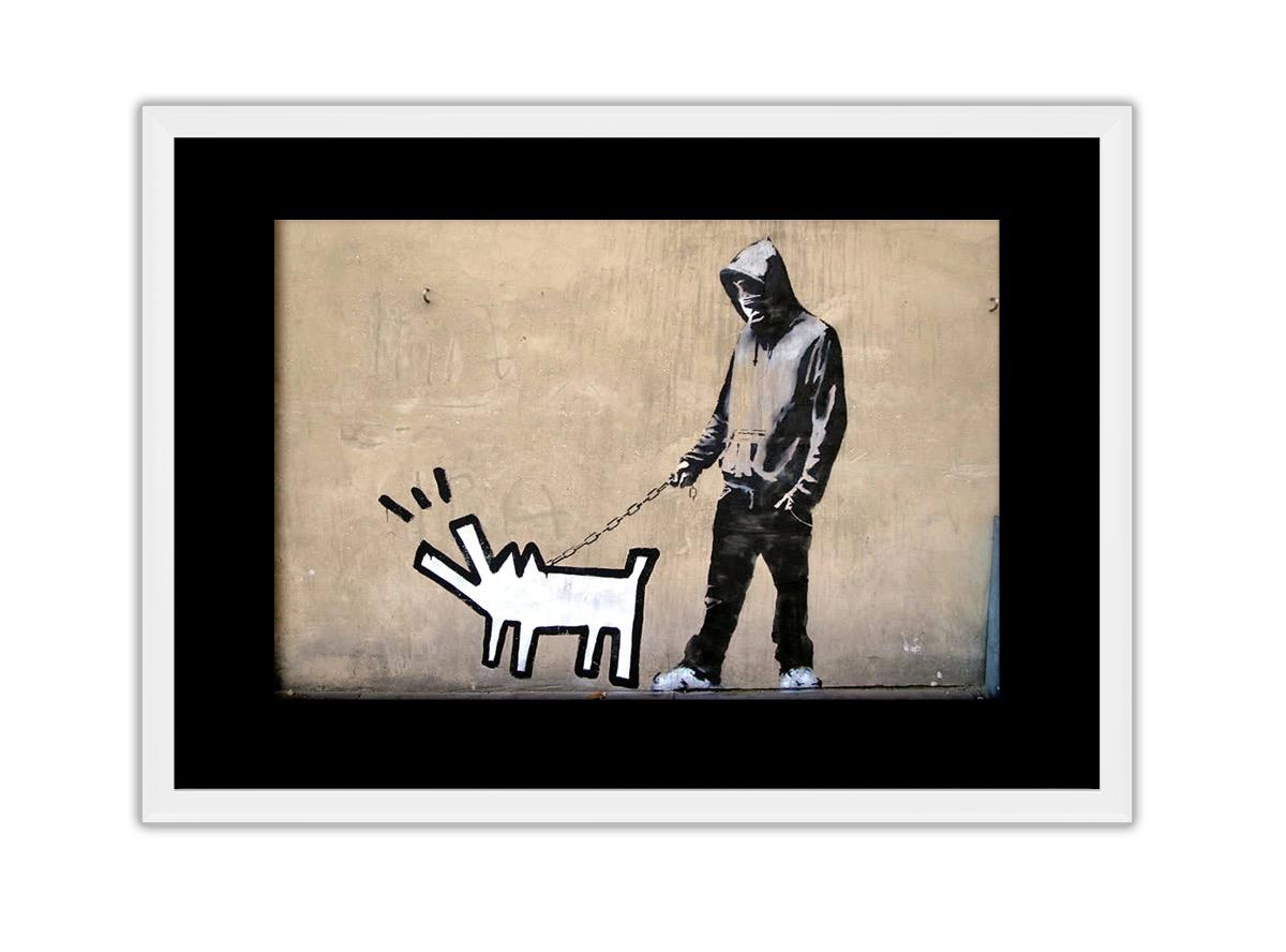 Dog Barking Photo Print