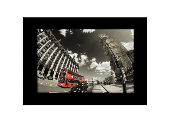 Big Ben Black Cab Photo Print