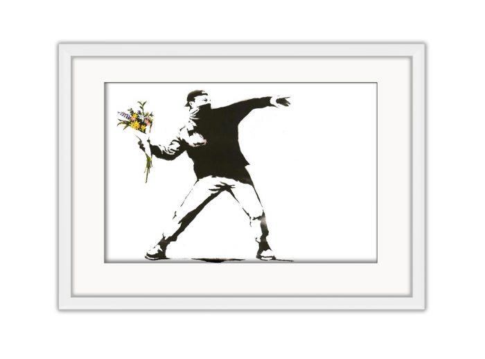 Flower Thrower  Photo Print