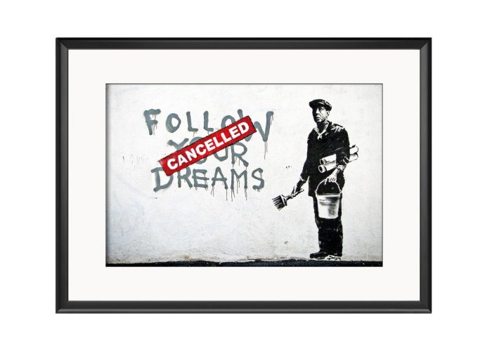 Follow Your Dreams Cancelled Photo Print
