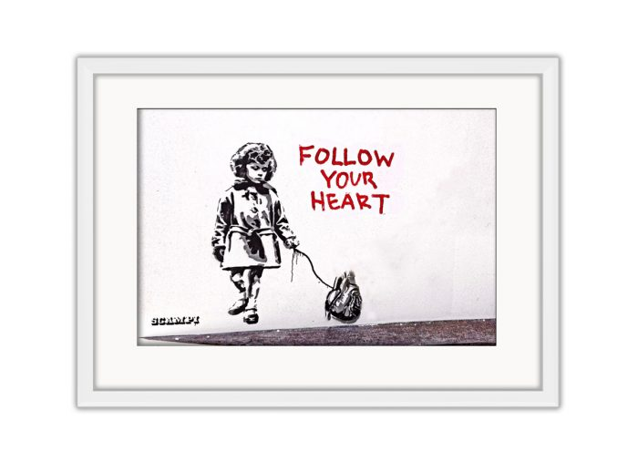 Follow Your Heart Photo Print