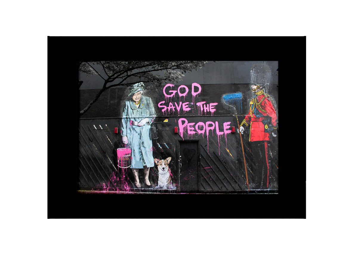 God Save The Queen Photo Print