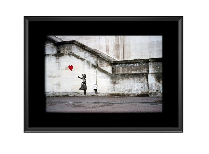 Balloon Girl There is Always Hope  Photo Print