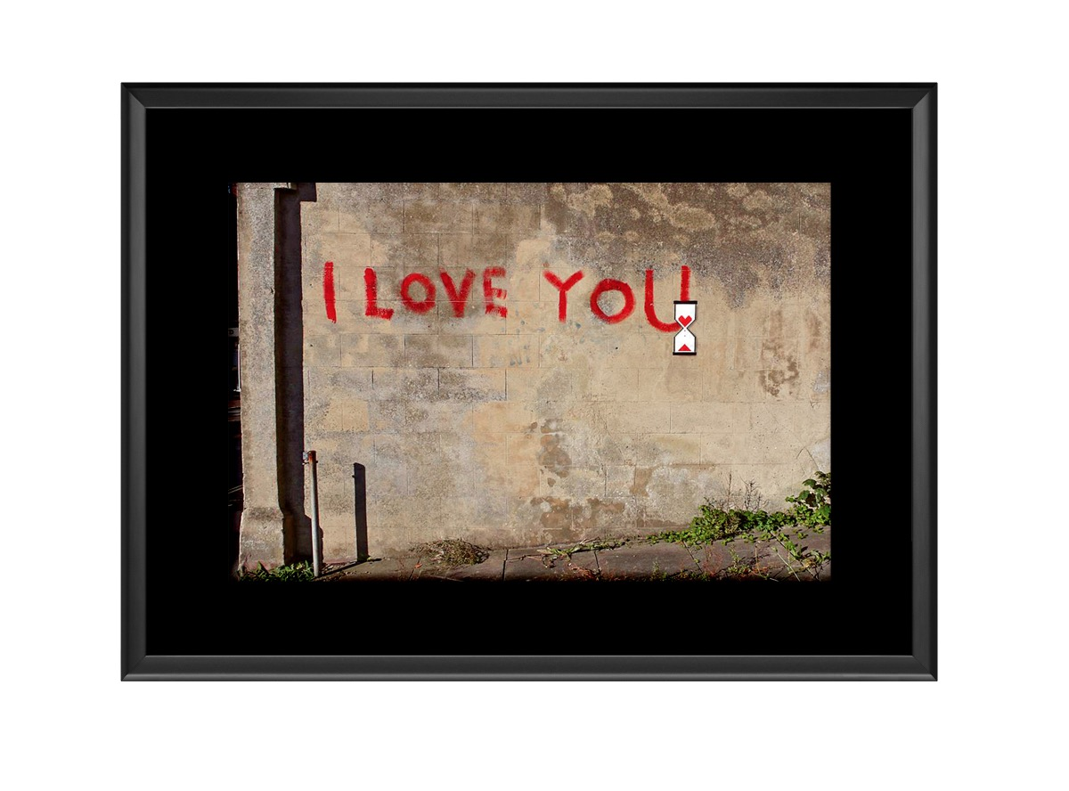 I Love You  Photo Print