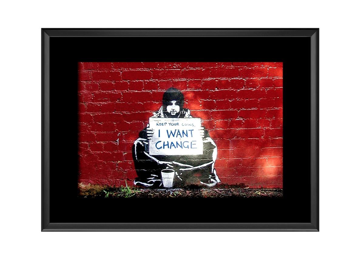 I Want Change Photo Print
