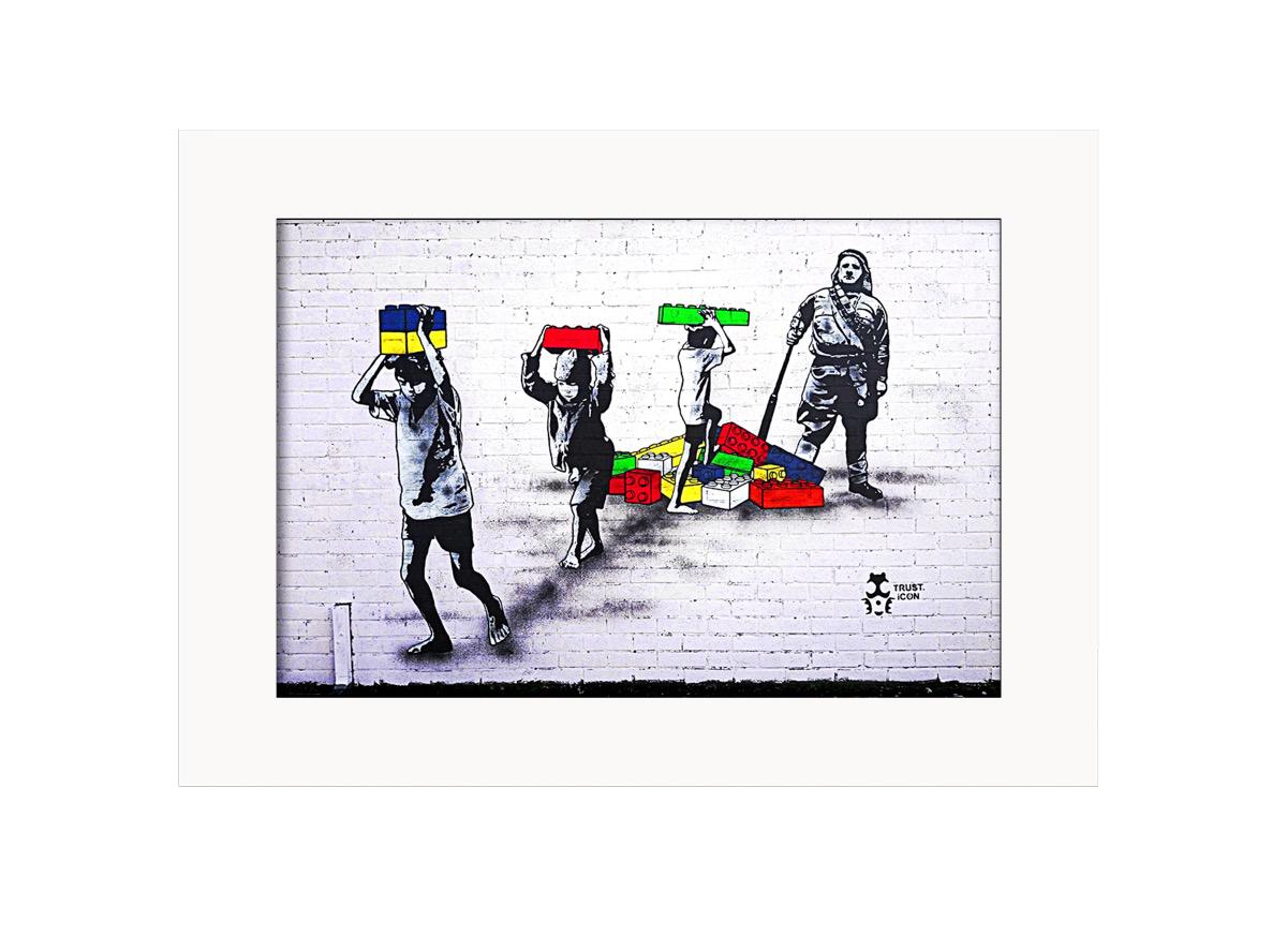 Lego Wars  Photo Print