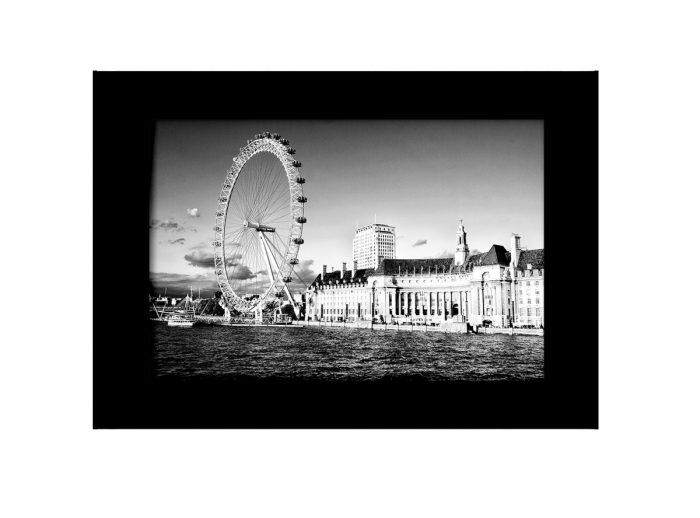 London Eye BW Photo Print