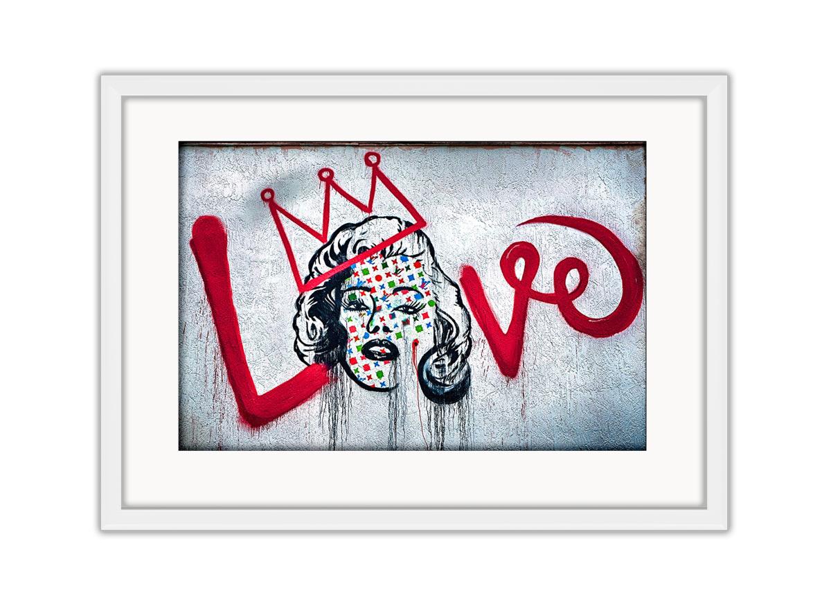 Love Marilyn Monroe Photo Print