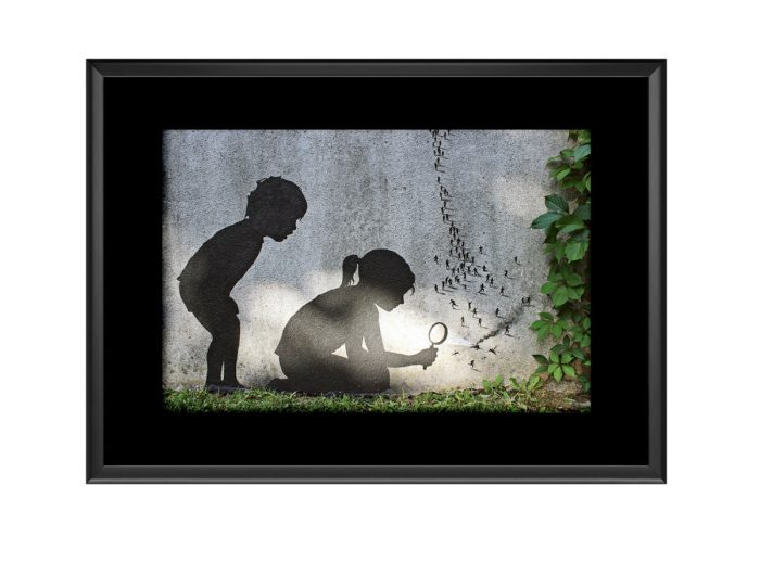 Magnifying Sunlight Photo Print