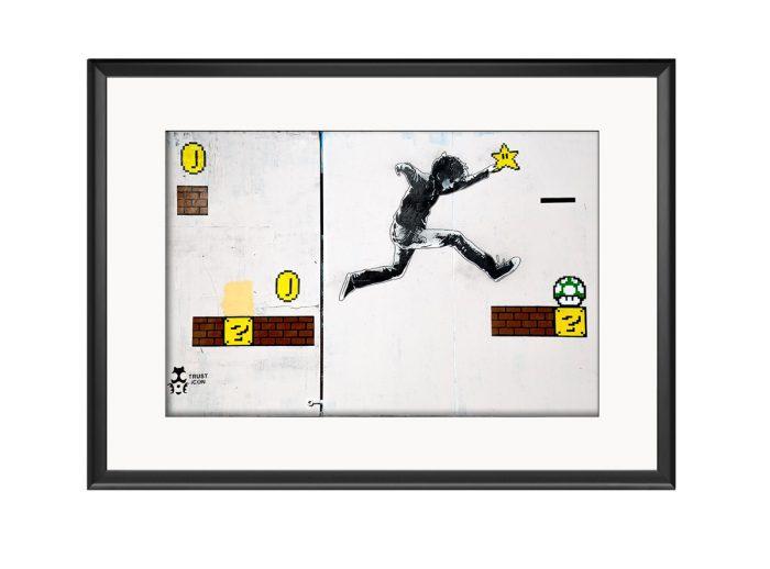 Mario Boy  Photo Print