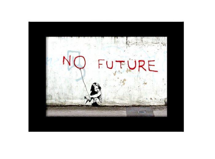 No Future  Photo Print