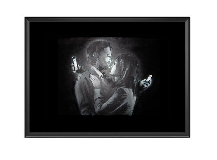 Phone Lover Photo Print
