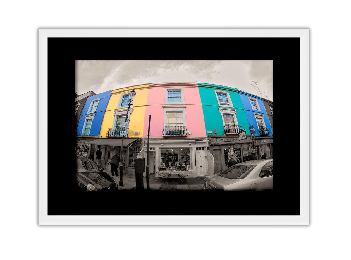 Portobello Houses  Photo Print