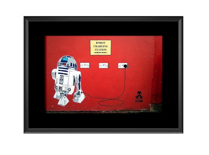 Robot Station Photo Print