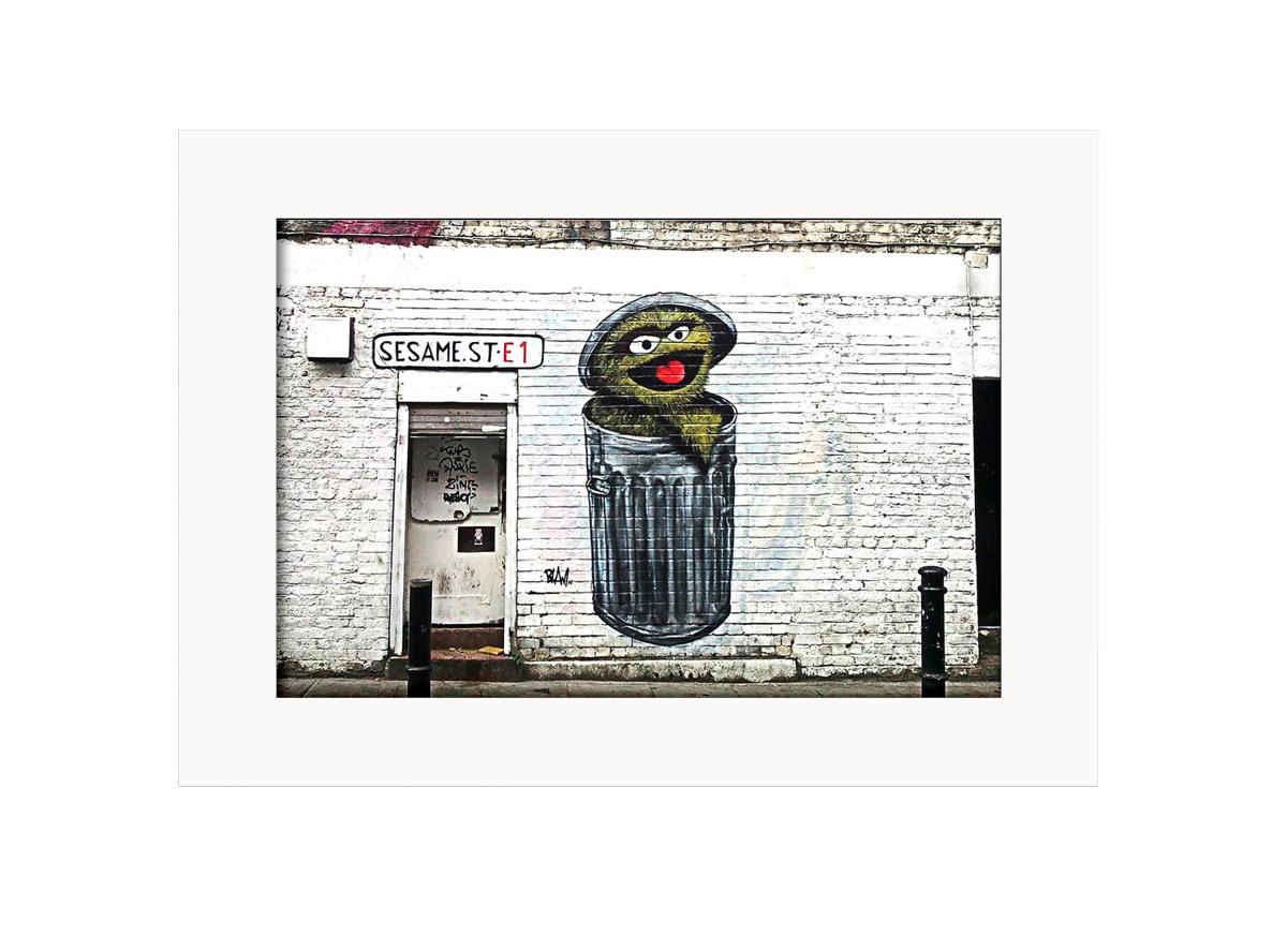 Sesema Street  Photo Print