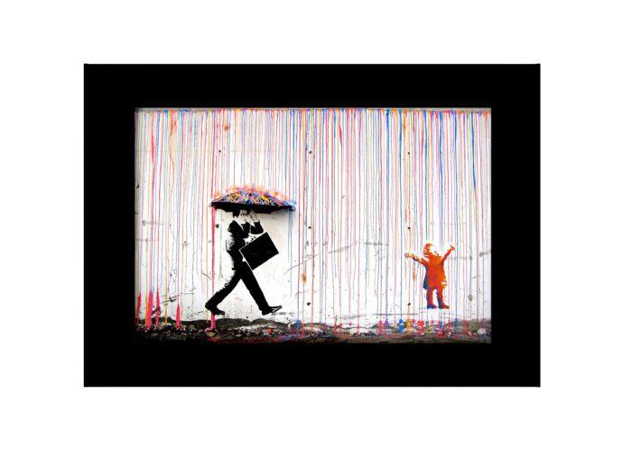 Stripe At Rain  Photo Print