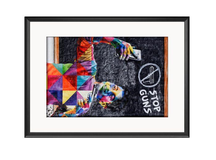 Stop Guns  Photo Print