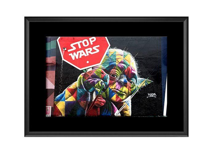 Stop Wars Joda  Photo Print