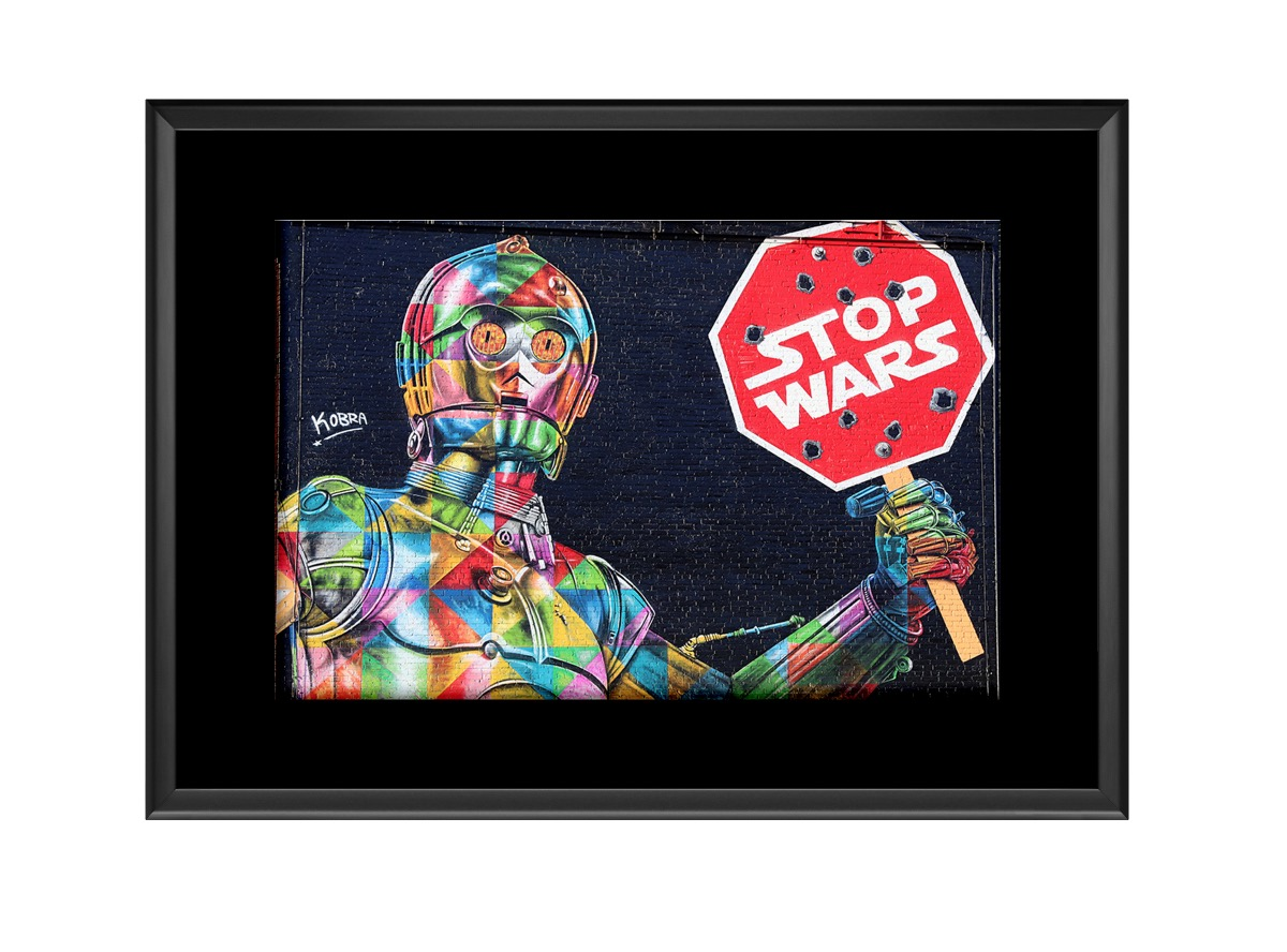 Stop Wars B32B2 Photo Print