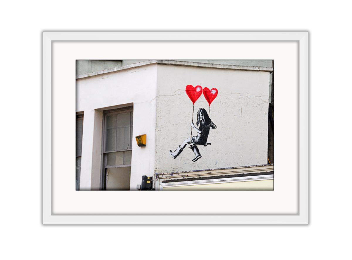 Swing Girl  Photo Print