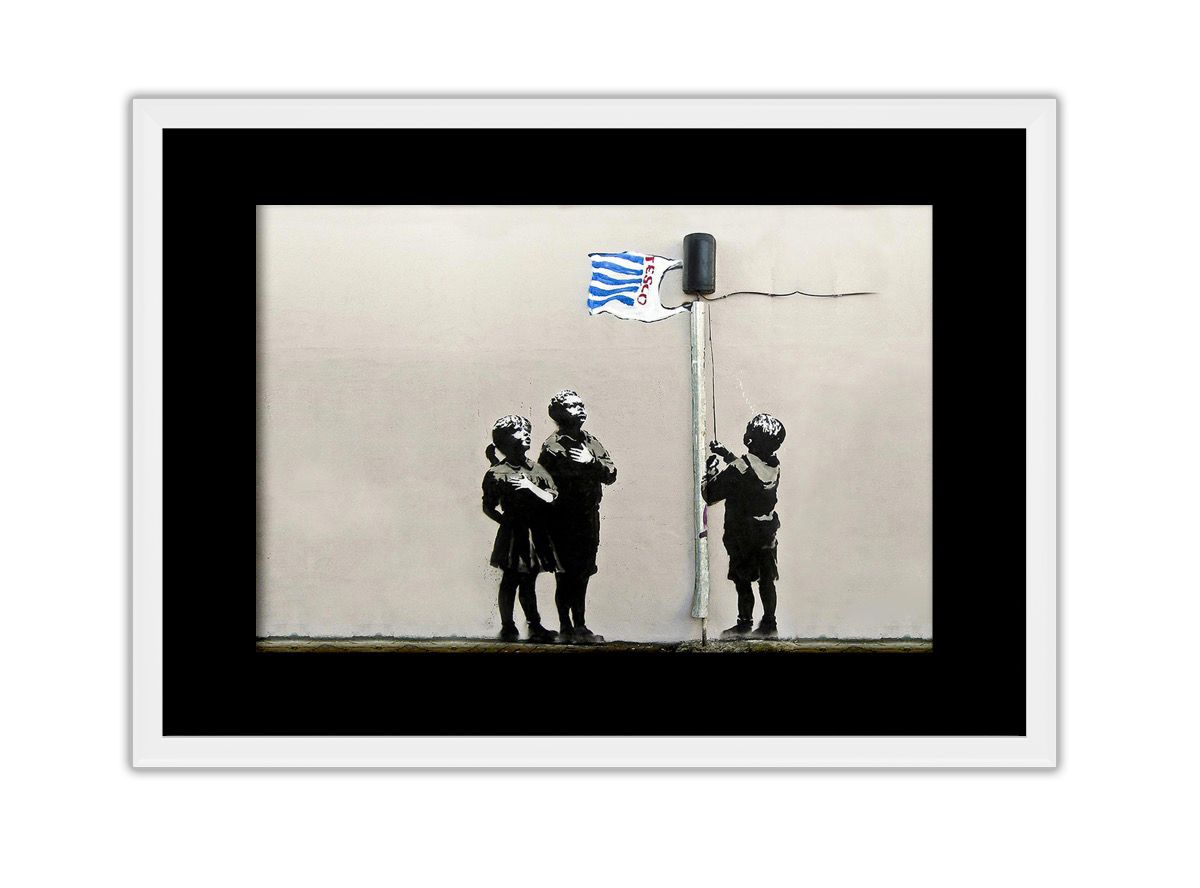 Tesco Flag  Photo Print