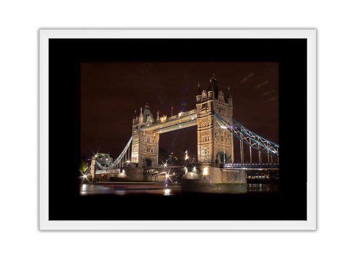 Tower Bridge Night Photo Print