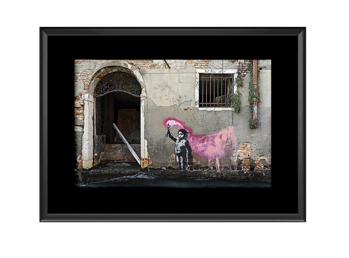 Venice Global Warninig  Photo Print